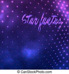 紫色, ファンタジー, 星