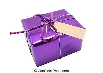 紫色, プレゼント
