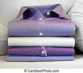 紫色, ワイシャツ