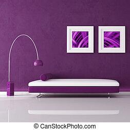 紫色, 内部