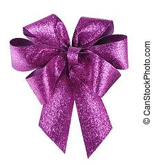 紫色, 白, 痛みなさい, 弓