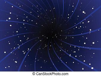 紫色, stars., 爆発