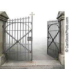細工鉄, 開いているゲート