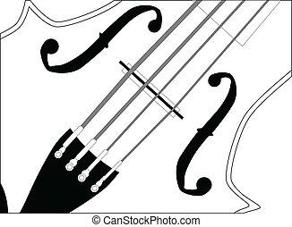 終わり, バイオリン, の上
