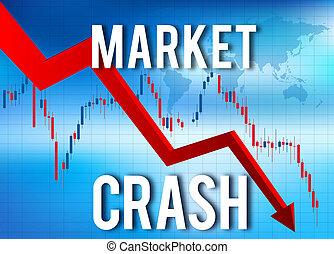 経済, 財政, 崩壊, 市場, 衝突