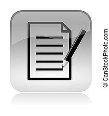 網, 形態, インターフェイス, アイコン, 文書, いっぱいになりなさい