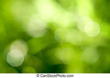 緑の概要, backgound, 自然