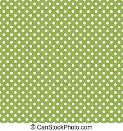 緑, ポルカ, seamless, 点, 背景