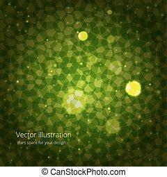 緑, 抽象概念, デザイン, あなたの