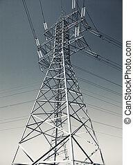 線, 電力