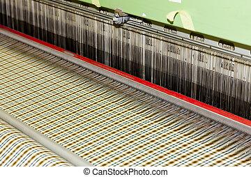 織物, 機械