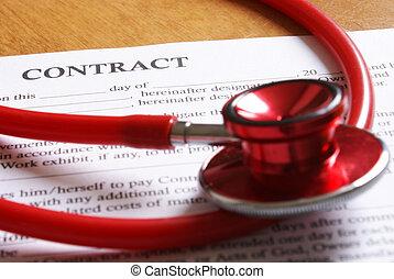 署名の契約, 取引