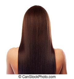 美しい, 毛, 長い間