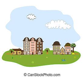 美しい, 町, 村, ∥あるいは∥, 隣人