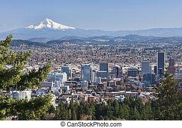 美しい, 眺望, ポートランド, オレゴン