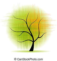 美しい, 芸術, 木