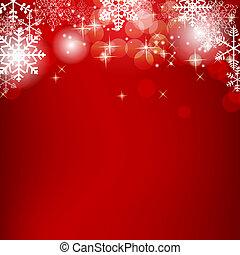 美しさ, 抽象的, イラスト, バックグラウンド。, ベクトル, 年, 新しい, クリスマス