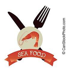 美食, 食物, 海