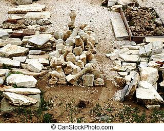 考古学的, 掘り出し物