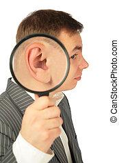 耳, 拡大する