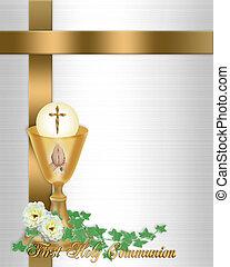 聖餐, 神聖, 背景, 招待