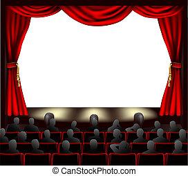 聴衆, 映画館