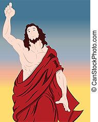 肖像画, 芸術, キリスト, イエス・キリスト