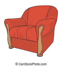 肘掛け椅子, 隔離された, 有色人種