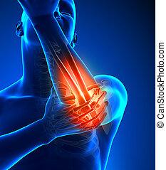 肘, 痛み