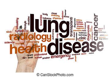 肺, 単語, 病気, 雲