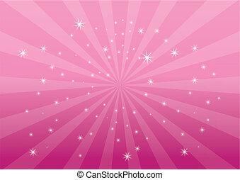背景を彩色しなさい, ピンク, ライト