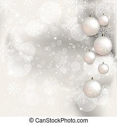 背景, -, クリスマス, イラスト
