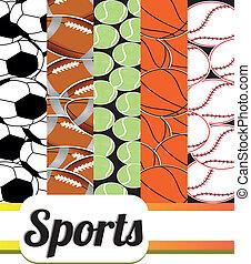 背景, スポーツ