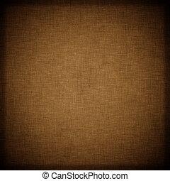 背景, ブラウン, 織物, 暗い, 型