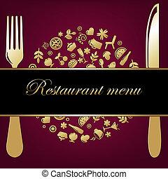 背景, レストラン