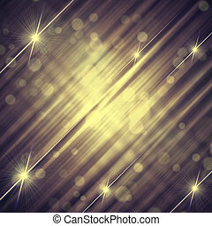 背景, 型, 抽象的, ライン, 灰色, 黄色, 星, すみれ, 照ること
