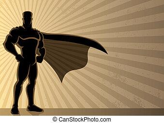 背景, superhero