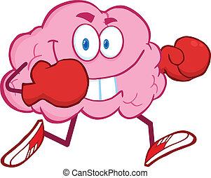 脳, 動くこと, ボクシング用グラブ