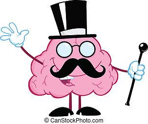 脳, 紳士, 幸せ