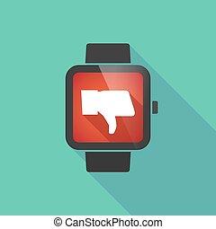 腕時計, 親指, 痛みなさい, 手