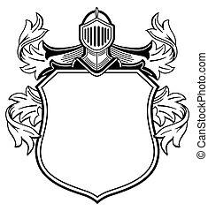 腕, knight's, コート