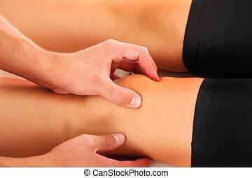 膝, 療法