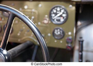 自動車, オフロード, 古い