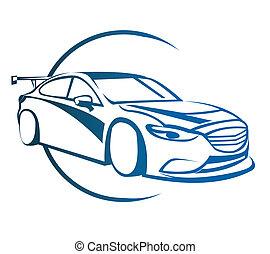 自動車, シンボル, 漂流