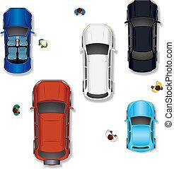 自動車, ベクトル, #2