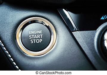 自動車, ボタン