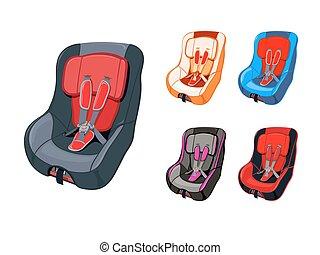 自動車, 子供の 座席