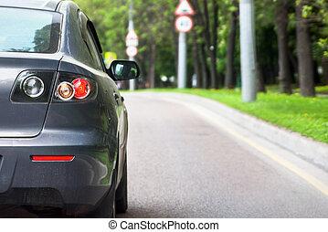 自動車, 後部光景