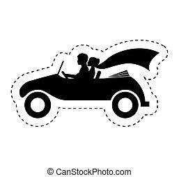 自動車, 恋人, 特徴, 新婚者