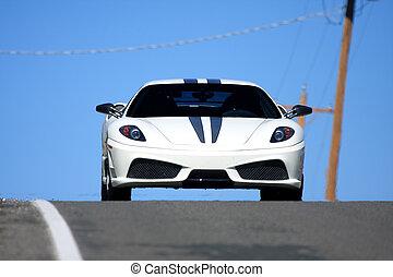 自動車, 白, スポーツ